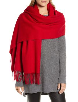 Solid Cashmere Wrap Scarf by Halogen®