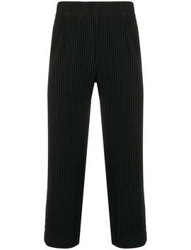 Pantalones Capri Slim by Homme Plissé Issey Miyake