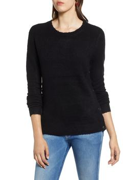 Side Button Sweater by Halogen®