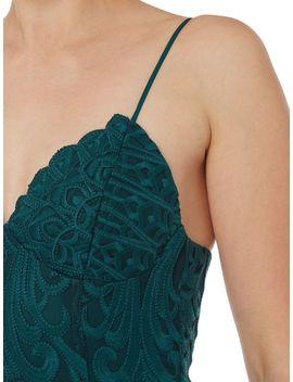 V Neck Strappy Bodycon Dress by Bardot