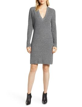 V Neck Sweater Dress by Halogen®