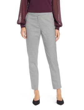 Plaid Ankle Skinny Pants by Halogen®