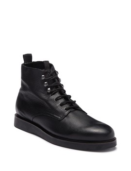 Aldford Leather Lace Up Boot by H By Hudson