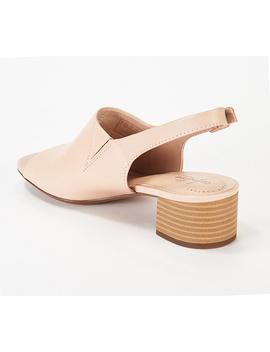 Clarks Leather Slingback Heeled Sandals  Elisa Kristie by Clarks