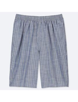 Men Light Cotton Easy Shorts (Online Exclusive) by Uniqlo