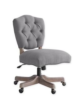 Linon Home Kelsey Office Chair In Natural by Bed Bath And Beyond