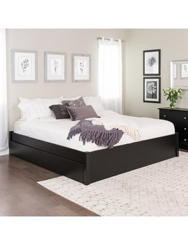 Winston Porter Sagamore 4 Post Storage Platform Bed & Reviews by Winston Porter