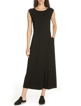 Bateau Neck Jumpsuit by Eileen Fisher