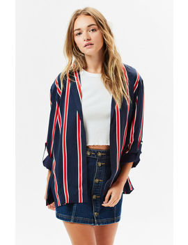 Mink Pink Nautica Striped Blazer by Pacsun