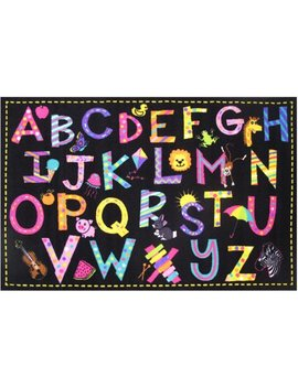 "Fun Rugs Fun Time A2 Z Fun Kids Rugs 6'8"" X 10' Rug by Fun Rugs"