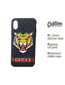 Designer Iphone Xs Max Case, Tiger I Phone 8 Plus Case, Fashion Phone Case, Tiger Iphone X Case, Designer Galaxy S8 Plus Case, Black Case by Etsy
