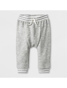 Baby Boys' French Terry Jogger Pants   Cat & Jack™ Gray by Cat & Jack