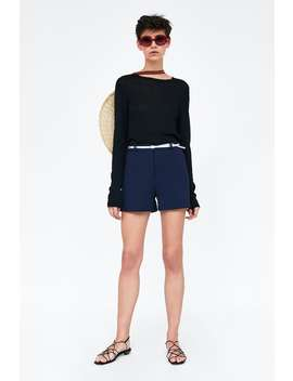 Bermuda Shorts With Belt  Starting From 70 Percents Offwoman Sale by Zara