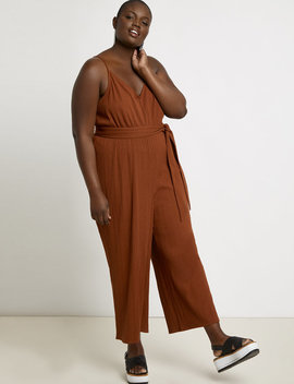 Wide Leg Jumpsuit Cover Up by Eloquii