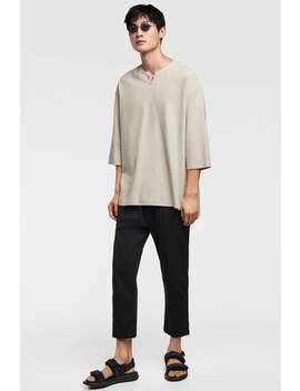 Structured Chino Pants  Starting From 50 Percents Offman Sale by Zara