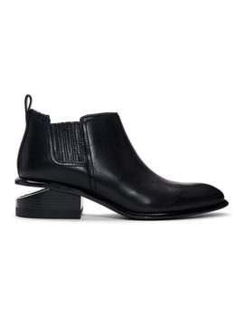 Black & Silver Kori Boots by Alexander Wang