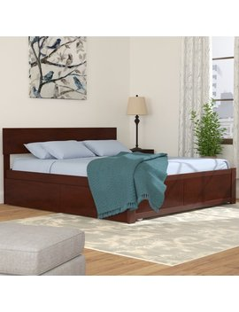 Latitude Run Cristina King Storage Platform Bed & Reviews by Latitude Run