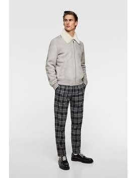 Plaid Pants  Starting From 50 Percents Offman Sale by Zara
