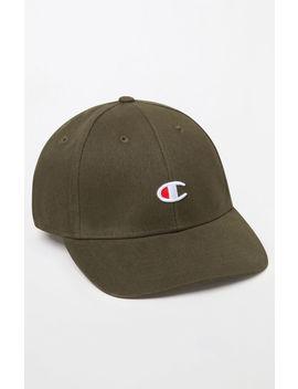 Champion Classic Twill C Strapback Dad Hat by Pacsun