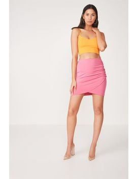 Party Wrap Mini Skirt by Cotton On