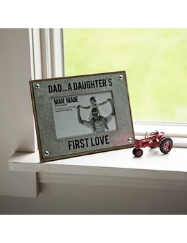 Dad &Amp; Daughter First Love 4x6 Photo Frame by Pier1 Imports