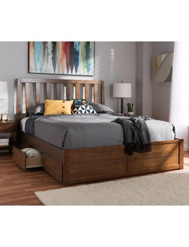 Ivy Bronx Freeland Storage Platform Bed & Reviews by Ivy Bronx