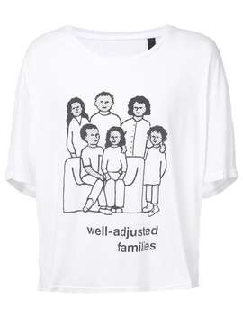 Family Print T Shirt by Enfants Riches Déprimés
