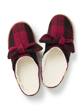 Ivy Check Slippers by Toms