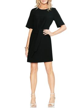 Belt Parisian Crepe Dress by Vince Camuto