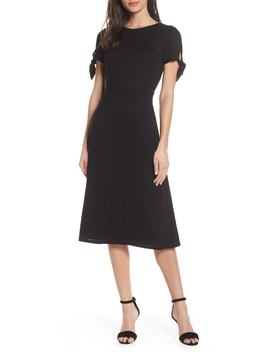 Bunker Hill Textured Midi Dress by Ali & Jay