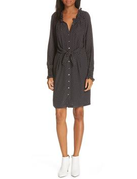 Dot Print Tie Dress by Rebecca Taylor