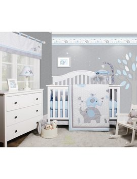 Harriet Bee Penney Elephant Baby Nursery 6 Piece Crib Bedding Set & Reviews by Harriet Bee