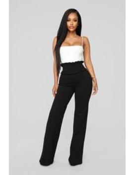 Cupcakin' High Rise Pant   Black by Fashion Nova