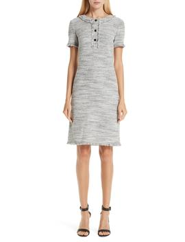 Eaton Place Tweed Knit Dress by St. John Collection