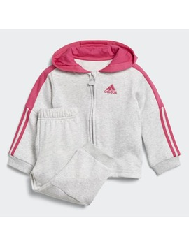 Logo Hooded Fleece Jogger by Adidas