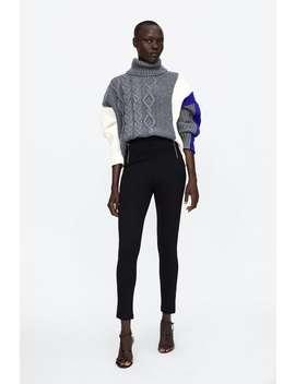 Zipper Leggings  View All Pants Woman Sale by Zara