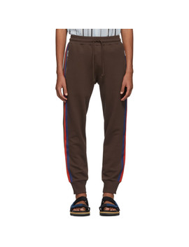 Brown Hastley Lounge Pants by Dries Van Noten