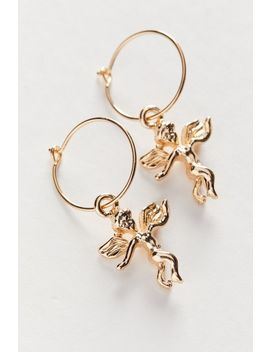 Icon Charm Hoop Earring by Urban Outfitters