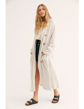 Sweet Melody Check Jacket by Free People