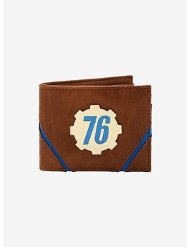 Fallout 76 Badge Bi Fold Wallet by Hot Topic