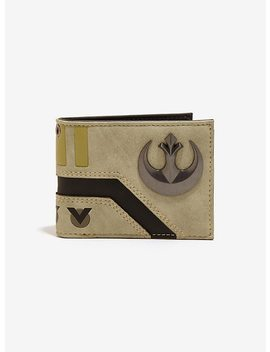 Star Wars Rebel Bi Fold Wallet by Hot Topic