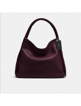Coach Bandit Hobo 39 In Oxblood by Coach