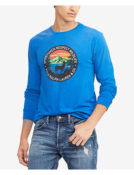 Men's Great Outdoors Graphic T Shirt by Polo Ralph Lauren