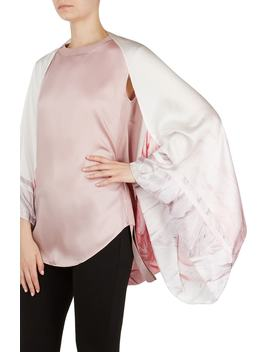Angel Falls Silk Cape Scarf by Ted Baker London