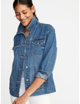 Boyfriend Denim Jacket For Women by Old Navy