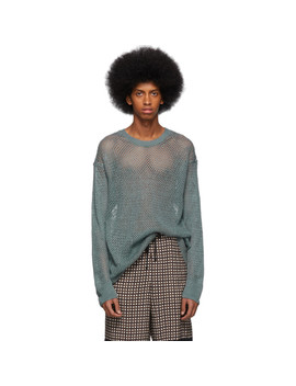Blue Neroli Sweater by Dries Van Noten