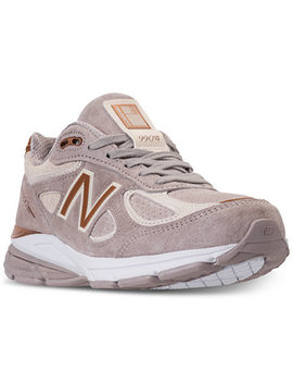 Women's 990 V4 Running Sneakers From Finish Line by New Balance