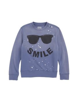 Smile Sweatshirt by Crewcuts By J.Crew