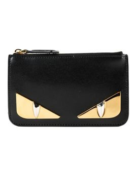 Fendi Bag Bugs Zipped Wallet by Fendi