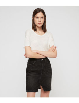 Trudy Denim Skirt by Allsaints